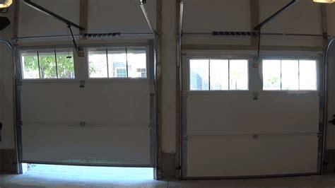 garage door open by itself