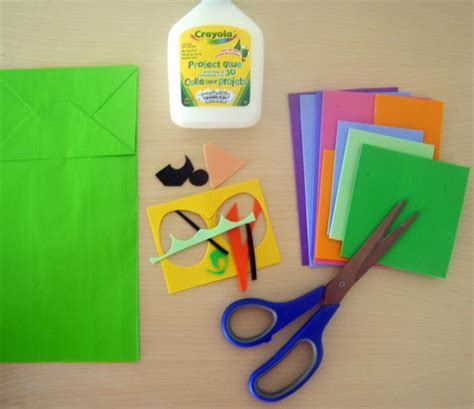 How To Make A Paper Bag Puppet - eco friendly craft ideas paper bag puppets erica