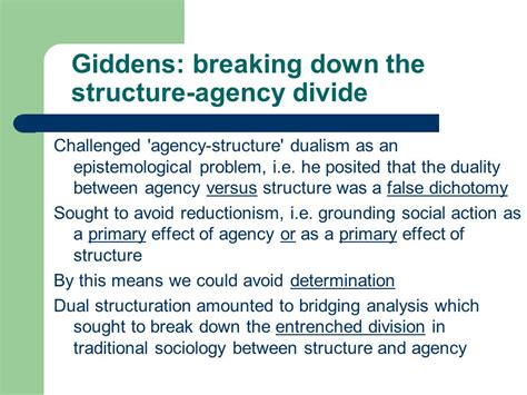 biography between structure and agency theoretical issues structure and agency ppt video