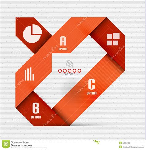 presentation and layout devices stripes option infographic design template stock images