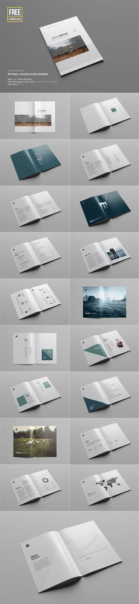 design company profile psd company profile template vector psd theme raid