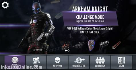 us mobile injustice gods among us mobile the arkham challenge