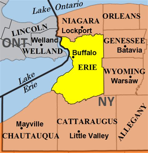 Erie County Ny Records 7 Facts About Buffalo New York
