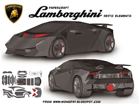 Papercraft Car Templates - ninjatoes papercraft weblog september 2014