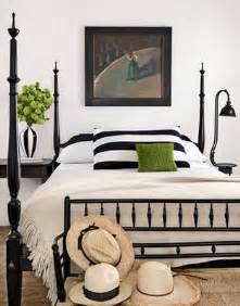 black and white bedroom stripes green maegan tintari