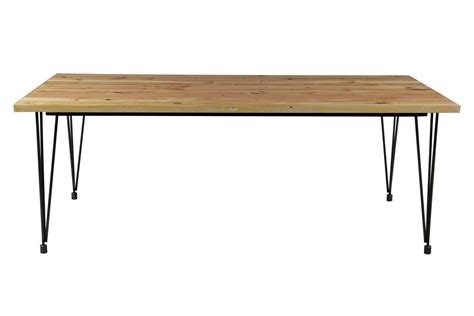 hairpin bench hairpin dining table wood flynn hairpin dining table