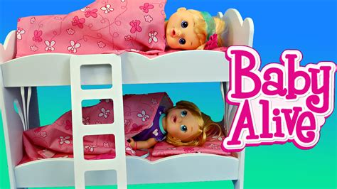 baby alive bunk beds from kidkraft great for twin dolls