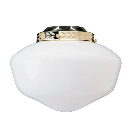 ceiling fan replacement shades westinghouse 5 1 2 in handblown white opal fluted glass shade with 2 1 4 in fitter and 4 3 4