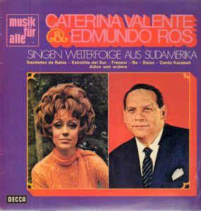 caterina valente estrellita del sur caterina valente with edmundo ros caramba vinyl lp