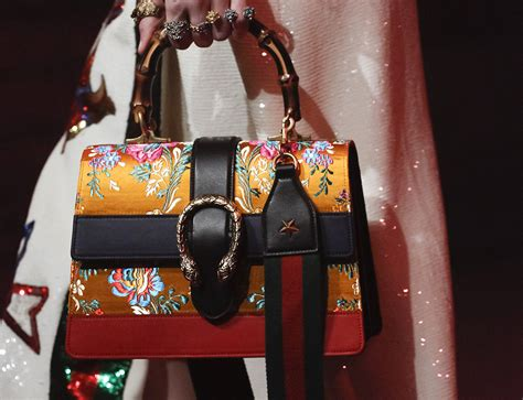 Gucci Bag 2017 Original gucci s 2017 runway bags are just as sumptuous and detailed as you d expect purseblog
