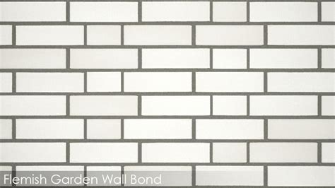 Walls Tiles Reference Guide Vizpark Flemish Garden Wall Bond