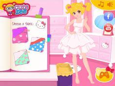 Game Design Your Hello Kitty Dress | dress up games on pinterest baby fashionista hello