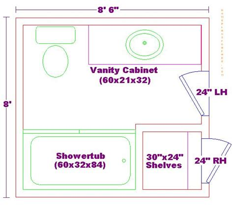bathroom floor planner 8x8 bathroom floor plan bathrooms pinterest bathroom