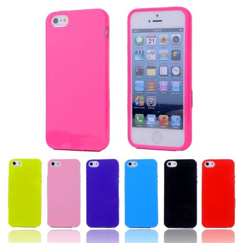 Apple Iphone 4 4s Soft Jelly Gel Silicon Silikon Tpu Ca Diskon for iphone4s fashion colors jelly soft tpu silicone shockproof for apple iphone 4 4s