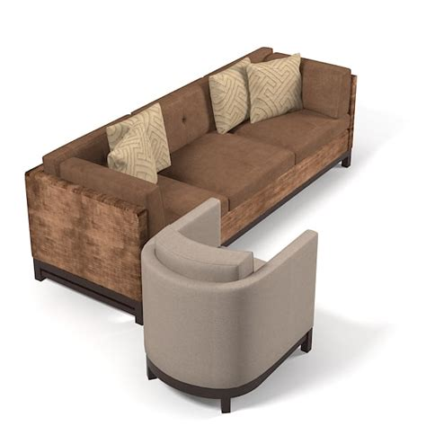 sofa for lobby 3d model contemporray lobby sofa