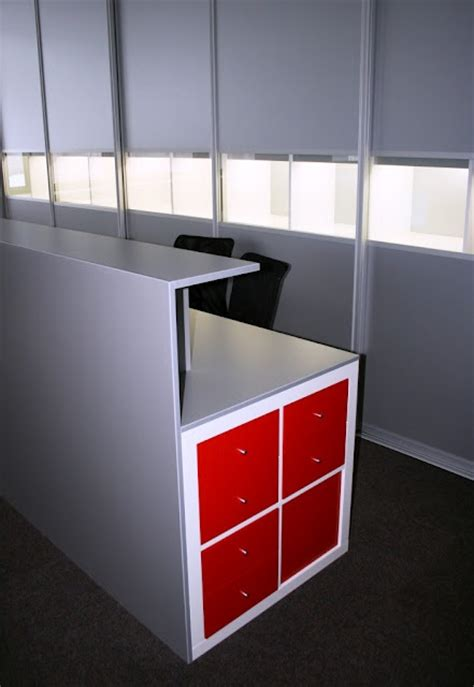 Reception Desk Ikea Hackers Lovely Shop Style Small Reception Desk Ikea