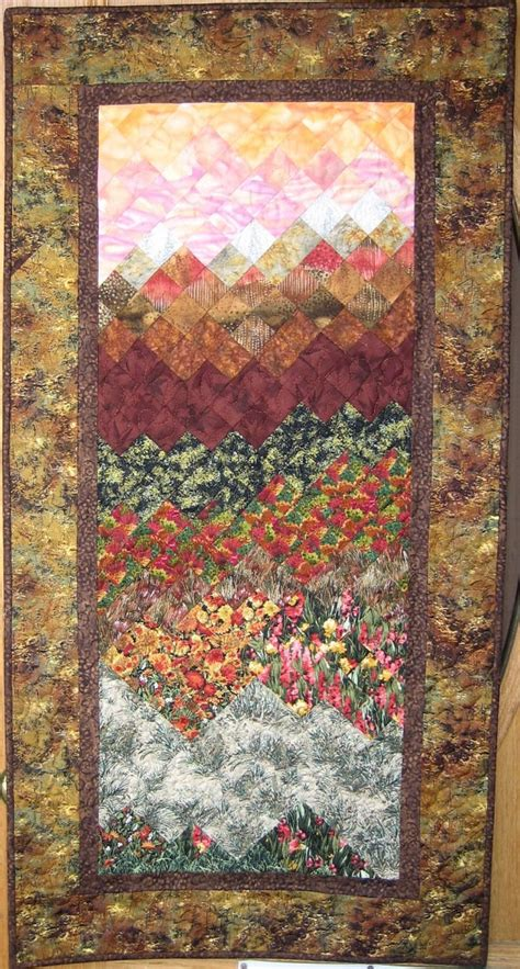 Tahoe Quilts by Sunset In Tahoe Quilt Wall Hanging
