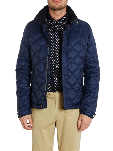 scotch soda lightweight quilted jacket with