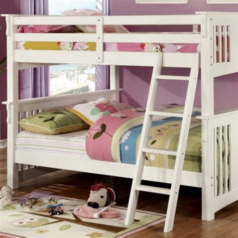 Bunk Bed Springs Creek Bunk Bed White