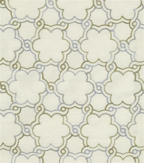 Hgtv Upholstery Fabric by Upholstery Fabric Hgtv Home Boho Lattice Emb Platinum At