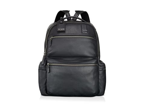 lyst tumi beacon hill revere brief backpack in black for