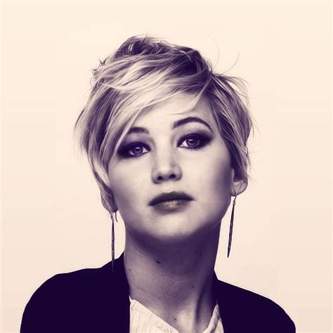 cute haircuts on gma 25 best ideas about jennifer lawrence pixie on pinterest