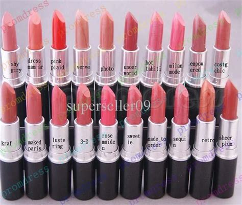 mac lipstick colors and names best selling new lustre lipstick a levres 3g 20