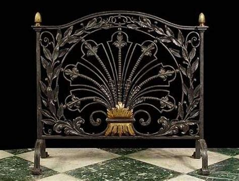 Decorative Fireplace Fans by Antique Fireplace Screens Extraordinarily Ember