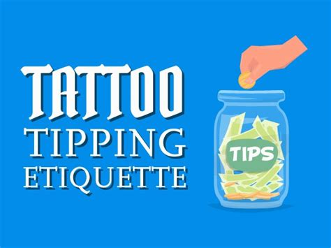 tattoo tip percentage tipping etiquette in the shop custom design