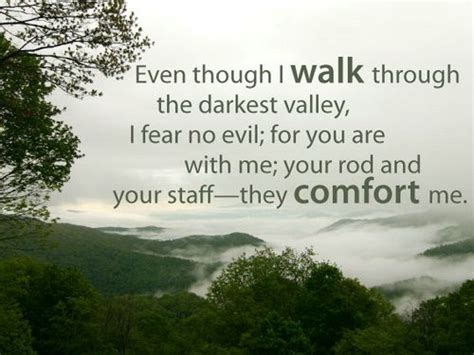 your rod and your staff they comfort me meaning positive quote from the bible quotesta
