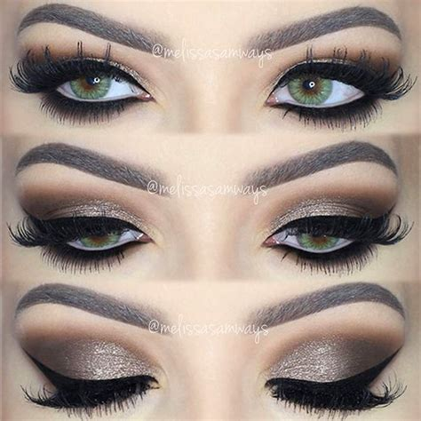 eyeshadow tutorial dramatic brown smokey eye makeup tutorial style guru fashion