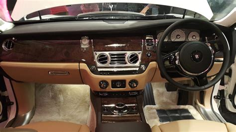 roll royce ghost interior rolls royce ghost series ii launched in chennai
