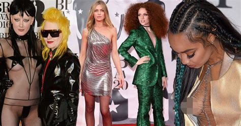 Worst Wardrobe by Worst Brit Awards Carpet Nearly Guests
