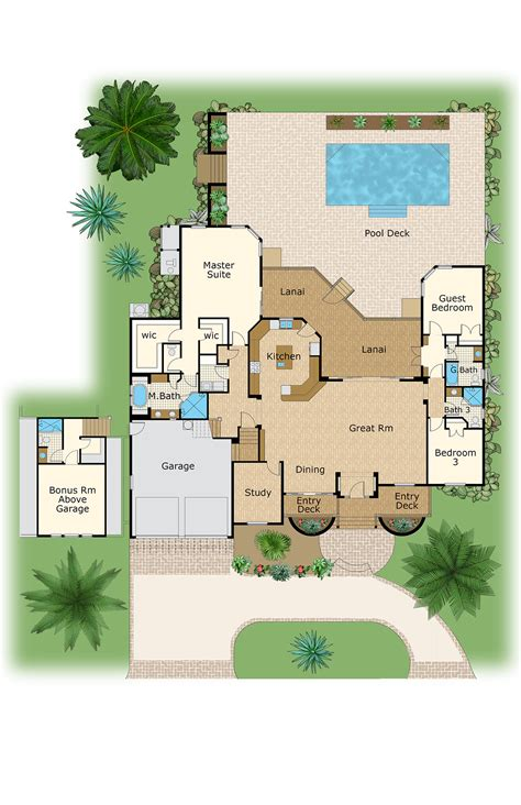 Floor Plan Measurements color floor plan and brochure samples on behance