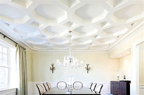 different ceiling designs gorgeous coffered ceiling with a unique shape