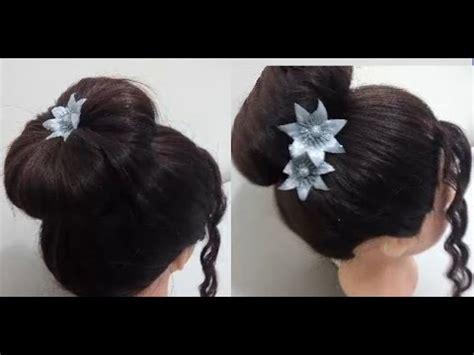 easy sock bun for medium hair no sock bun easy hairstyles for medium or hair