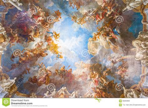 pittura soffitto pittura soffitto palazzo versailles vicino a