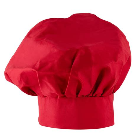 cook hat 13 quot red chef hat