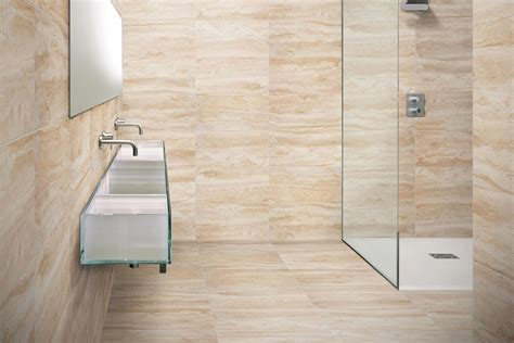 piastrelle in travertino gres porcellanato effetto marmo travertino 30x60 ceramiche