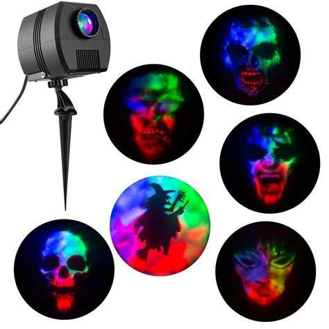 lightshow applights projection spot light stake 37871