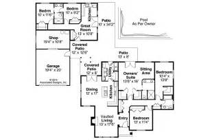 house plans with detached guest cottage
