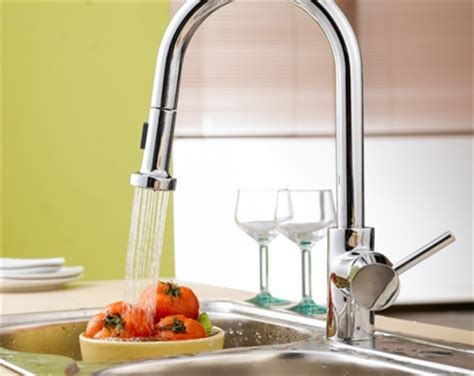 Kitchen And Bath Faucets by Single Handle Wall Mount Kitchen Faucet With Spray Hose