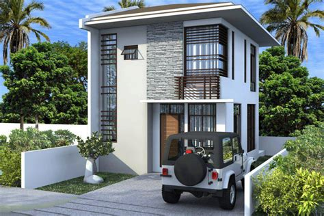 home design for small homes simple two storey house design philippines house plans