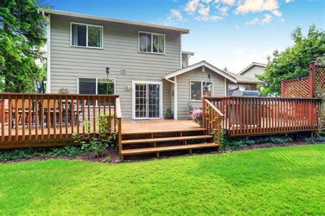 does adding a deck increase your home s value homes