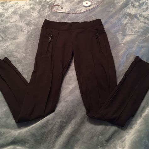 Zara Legging Brown 62 zara zara brown panel suede from