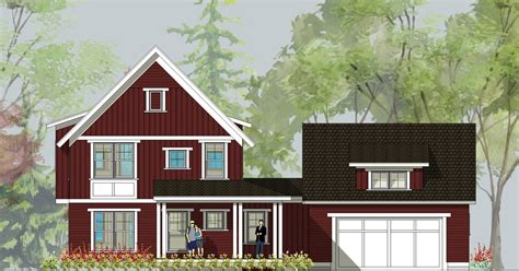 simply home designs barn house on display