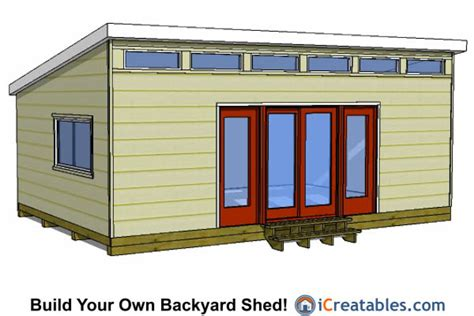 contemporary shed plans 16x24 modern shed plans 16x24 shed plans pinterest