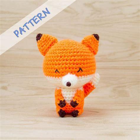 fox pattern pinterest fox amigurumi pattern fox crochet pattern fox plush