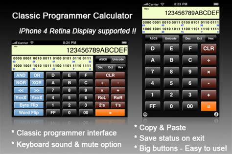 calculator programmer les calculatrices pour ios