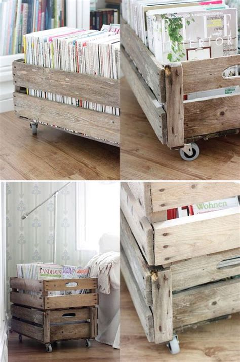 ikea crate crates wood boxes a diy cart made w ikea casters and some wood panels maybe from pallets
